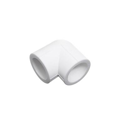 Отвод 90* PP-R 20мм (цвет белый) - фото 5970