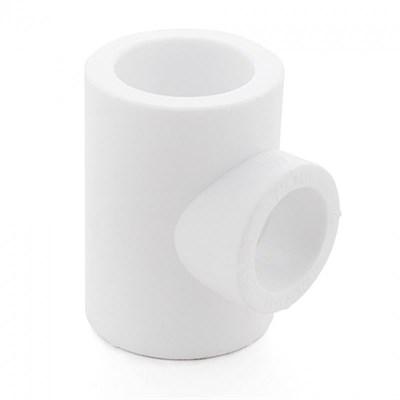 Тройник PP-R 25мм (цвет белый) - фото 6010