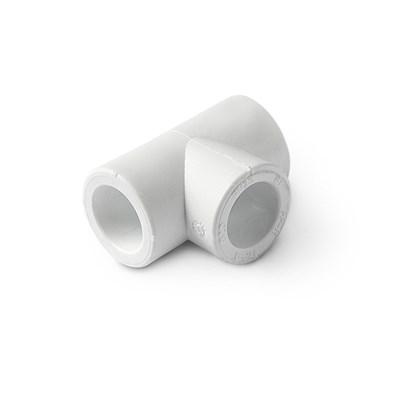 Тройник PP-R 32мм (цвет белый) - фото 6012
