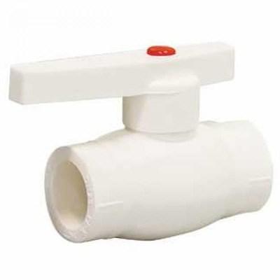 Кран шаровой PP-R 25мм (цвет белый) - фото 6103
