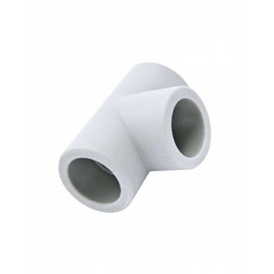 Тройник переходной PP-R 63-50-63мм (цвет белый) - фото 6331