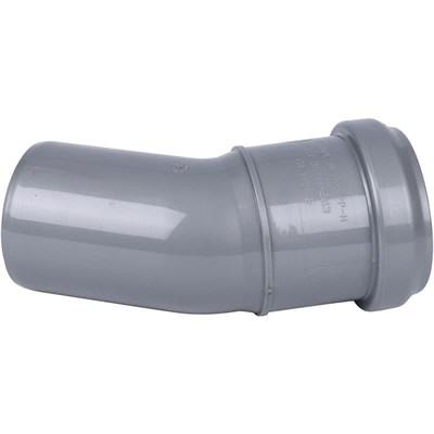 Отвод канализационный D50x30гр. - фото 6345