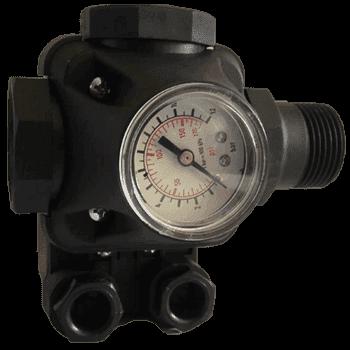 Реле давления IBO PC-2 с манометром - фото 6382