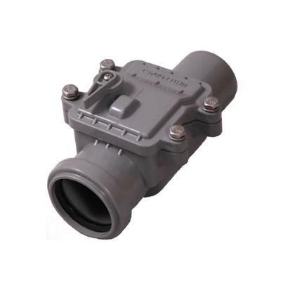 Обратный клапан DN 50, цвет серый - фото 6404