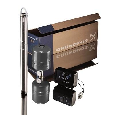 SQE 3-105  Комплект для поддержания постоянного давления с насосом SQE - фото 6412