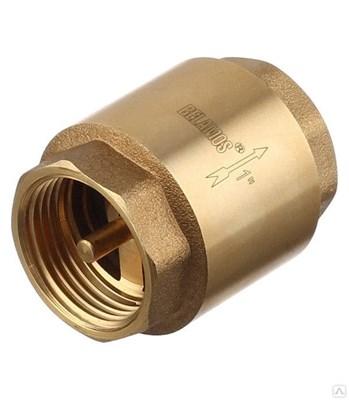 Обратный клапан FV-С 1  латун. клапан вн/вн - фото 6428
