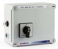 Пульт управления QEM 300 (2,2 кВт) для однофазных 4  дюймовых погружных электронасосов - фото 6458