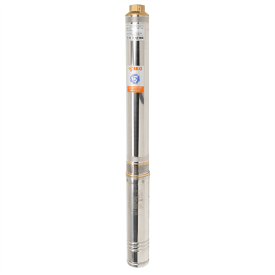 Насос скважинный IBO 3STM24 c кабелем 1м 70л/мин.,диам.,75мм центробежный - фото 7197