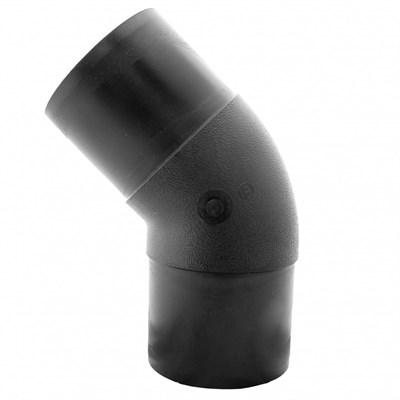 Отвод удлиненный 45гр 0110мм ПЭ100 SDR17 литой - фото 8135
