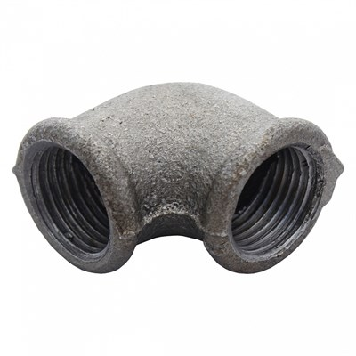 Угольник чугун оц Ду 15 Fittex - фото 8292