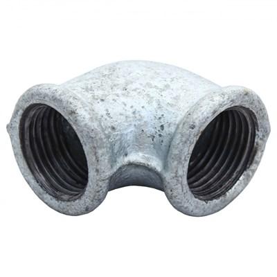 Угольник чугун оц Ду 32 Fittex - фото 8293