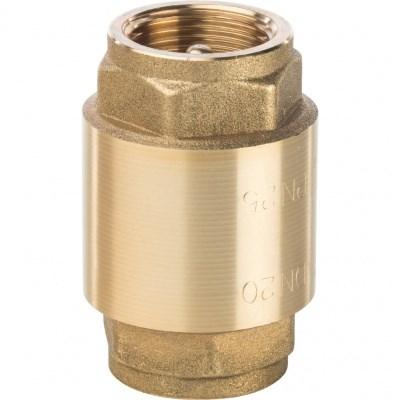 Обратный клапан 1-1/4  с латунным штоком - фото 8395