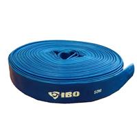 Шланг-рукав напорный IBO 50 метров 2 дюйма для фекальных и дренажных насосов ПВХ