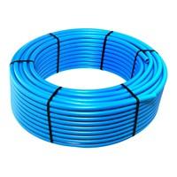 Труба ПНД  ЭкоБат 25х2,0 на отрез, кратно 10 метрам, до 100 метров SDR 13,6 (PN 10) пищевая, голубая