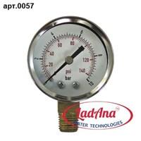 Манометр 10bar. РАД металл 5 см LadAna