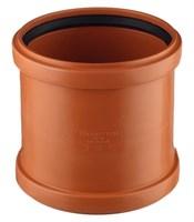 Муфта канализационная 110, цвет оранжевый