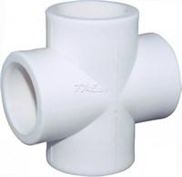 Крестовина PP-R 32мм (цвет белый)