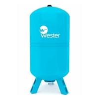 Гидроаккумулятор Wester WAV 200 синий, вертикальный