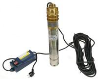 Насос скважинный центробежный погружной SKM GREENPUMP 100 3  кабель 20м Omnigena