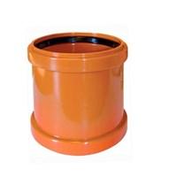 Муфта канализационная 160, цвет оранжевый