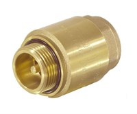 Клапан обратный  RE-GE  с металлическим седлом G1  Ml