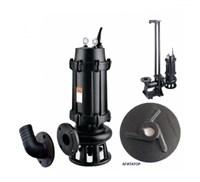 Фекальный насос IBO MWQ 150/7500 (380В)  с режущим механизмом агитатор 2100л/мин Н-15м каб.10м